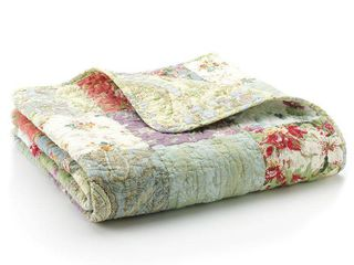 Greenland Home Fashions Blooming Prairie   50W x 60l in  Quilted Throw