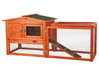 TRIXIE Outdoor Run Rabbit Hutch  Retail 149 99