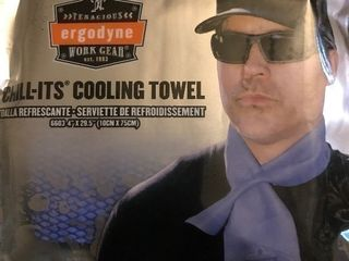 lot of 10 cooling towels get ready for the heat of summer get them wet keep your head and neck cool