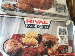 New grilling set with rotisserie as pictured