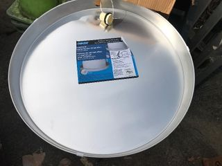large hot water heater drain pan