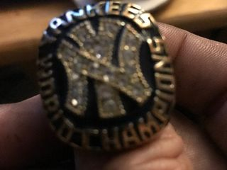 Really nice heavy duty replica New York Yankee World Series ring 1977