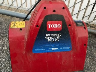 Toro power shovel plus get ready for winter snowblower As pictured