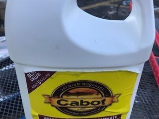 1 gallon of wood cleaner concentrate revitalize your deck