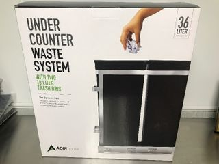 New under counter call out trash organizing unit