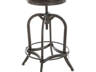 "Gunner 28-inch Swivel Bar Stool by Christopher Knight Home - 27.5-33.25""h x 18.5""w- Retail:$116.49"