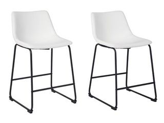 Centiar Upholstered Stool Set of 2- Retail:$184.99