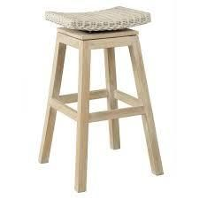 East at Main's Welland Casual Off-white Barstool- Retail:$172.49