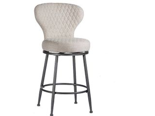 Carbon Loft Bryant Upholstered Swivel Counter Height Stool- Retail:$151.58