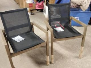 dining chairs set of 2 grey and black