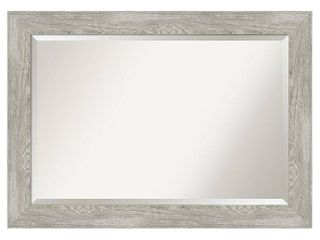 Dove Greywash Bathroom Vanity Wall Mirror- Retail:$141.99