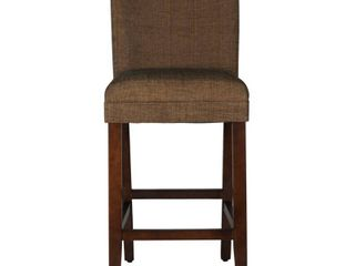 HomePop Upholstered Parson Barstool - 29 inches- Retail:$83.49