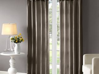Madison Park Natalie Twisted Tab Lined Single Curtain Panel 2 pc