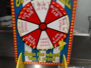 Spin A Prize spinner board