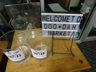 Sign frame  jars message board   misc