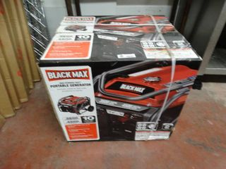 New in box Black Max 4500 watt gas generator