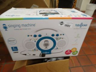 Bluetooth singing machine in box