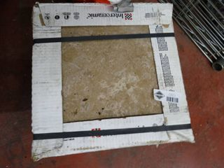 Box of new 13  x 13  ceramic tile  15 pcs
