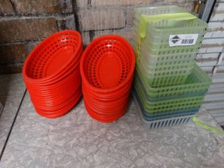 Plastic oval baskets  plastic baskets