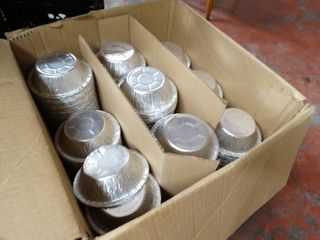 Case of 5  12 oz pot pie tins