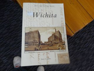 Postcard history series WICHITA Book  New