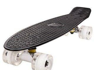 Cal 7 Complete 22a Mini Cruiser Skateboard Onyx