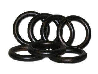 Wood 2-inch Antique Bronze Curtain Rings (Set of 7) 3 sets