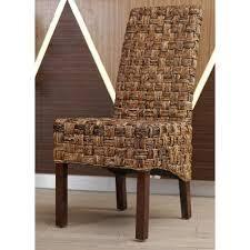 international caravan dining chair weaved 1 only light brown