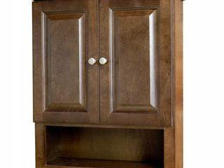 Auburn 2 Door Bathroom Wall Cabinet- Retail:$229.99