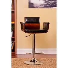 Carson Carrington Solvesborg Contemporary Swivel-adjustable Bar Stool- Retail:$97.99 cherry wood
