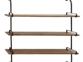 Carbon Loft Carson Rustic 3-shelf Wall Rack- Retail:$159.99