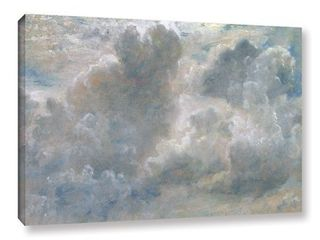 John Constable's Study of Cumulus Clouds, 1822, Gallery Wrapped Canvas- Retail:$91.99