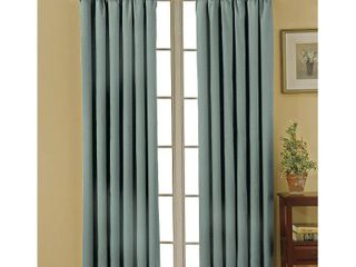 Eclipse Canova Thermal Light Filtering Curtain Panel 2 pc