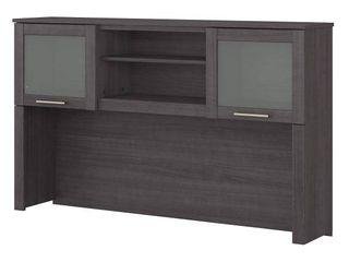 Copper Grove Shumen 60 inch Hutch for l shaped Desk   59 09 l x 12 50 W x 35 69 H  Retail 256 49