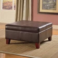 Copper Grove Rillieux Large Brown Storage Ottoman Brown Large- Retail:$116.87