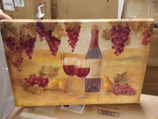 canvas wine picture