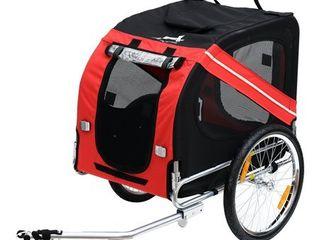 Aosom Elite Pet Bike Trailer   Retail 124 99
