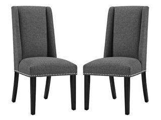 Baron Dining Chair Fabric Set of 2- Retail:$274.99