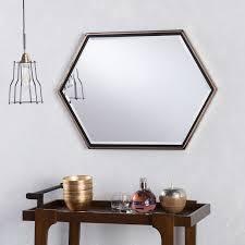 Holly   Martin Whexis Gold Wall Mirror   Retail 116 99