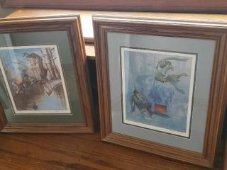 Artwork by Letty Jones, set of 2