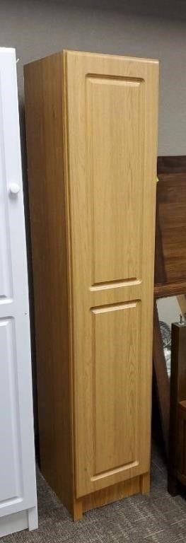 Wooden storage cabinet
