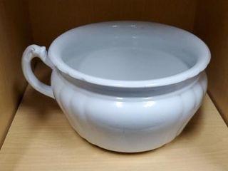Royal iron stone chamber pot