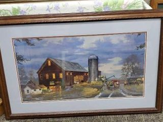 Golden Harvest artwork by Barnhouse