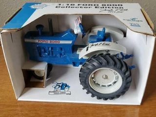 Ford 8000 series signed collector edition tractor