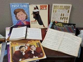 Music song books, hymnals, albums