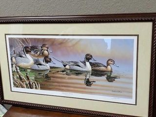 Ducks Unlimited Backwater Pintails Duck artwork
