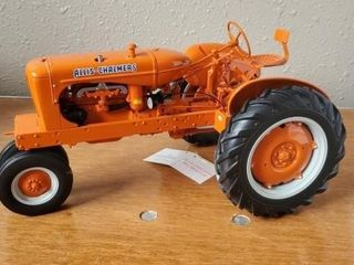 Allis Chalmers toy tractor collectible