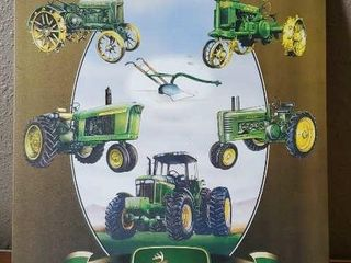 Celebrating 160 years John Deere metal sign