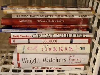 Cookbooks, Betty Crocker, Weight Watchers
