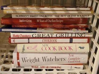 Cookbooks, Betty Crocker, Weight Watchers